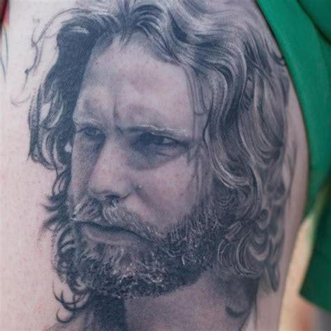 jim morrison tattoos jim morrison portrait details by sam ford tattoos