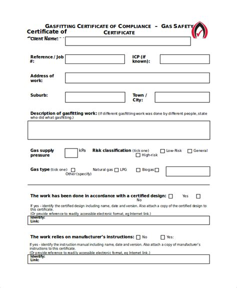 extinguisher certificate template safety certificate template 8 free word pdf document