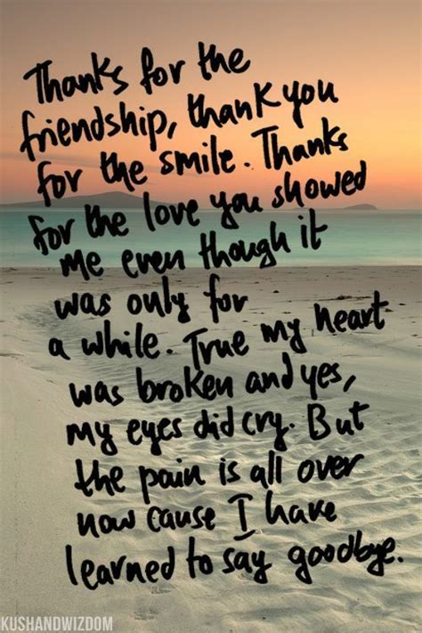 up letter sad quotes i learned to say goodbye quotes quotes quote