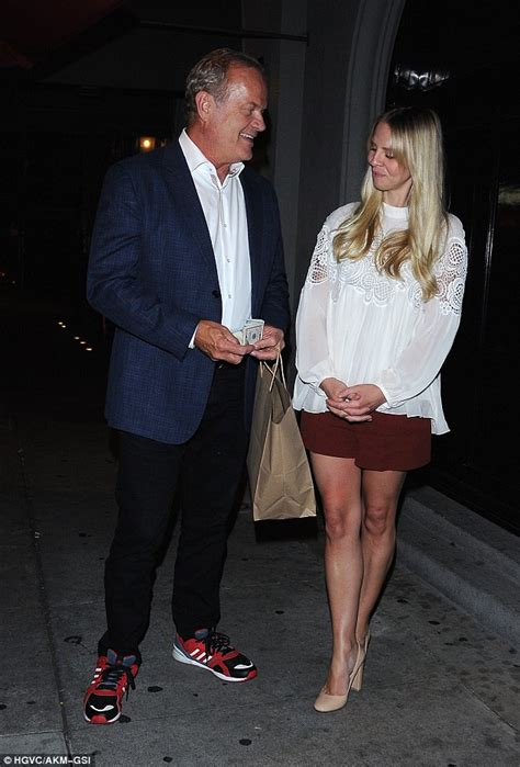 kelsey grammer navy kelsey grammer looks besotted with lwife kayte as they