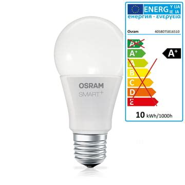 Lu Mobil Osram Nbr Plus smart led classic a 60 e27 osram connox