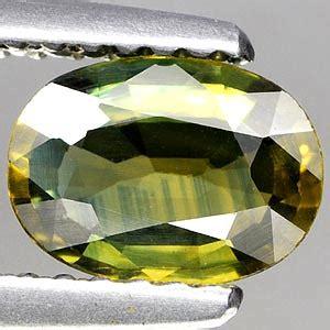 Ametrine 5 97ct genuine green sapphire 97ct 7 3 x 5 4 x 2 7mm oval