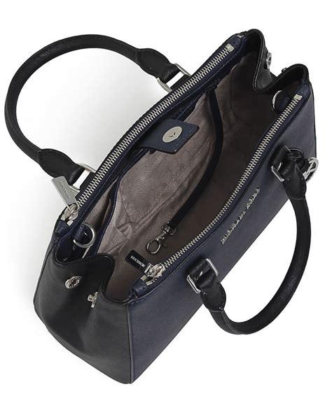 Michael Kors Sutton Top Handle Bag by Michael Michael Kors Sutton Small Satchel Bag In Blue Lyst