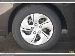 2014 honda civic lx sedan wheel and tire photo 89133614