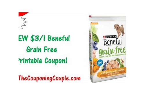 free dog food coupons printable