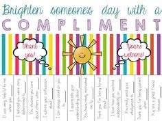 take a compliment 50 posters to pin and free compliments poster diy that i got to try