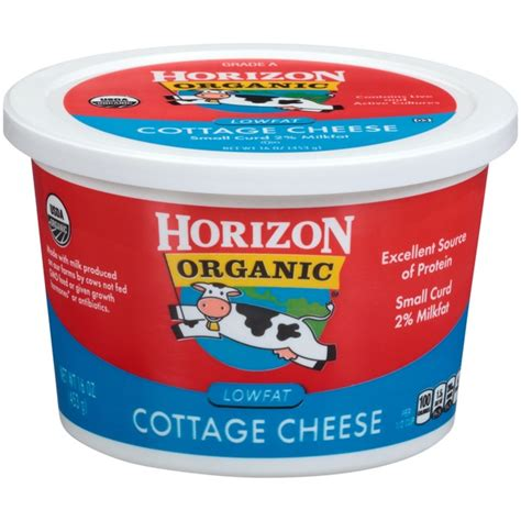 carbon dioxide in cottage cheese horizon organic lowfat small curd cottage cheese 16 oz