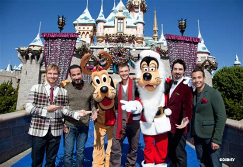 taping of orlando segments of disney parks christmas day