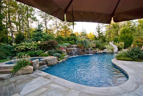 Swimmingpool Für Garten by Beautiful Landscaping Gardens Cipriano Landscape Design Nj