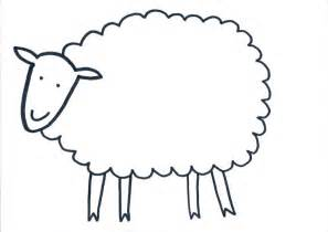 sheep template printable free displaying green sheep template jpeg rainbow guides