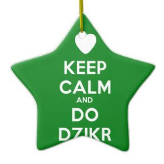 Keep Calm Do Dzikir sengketa hati