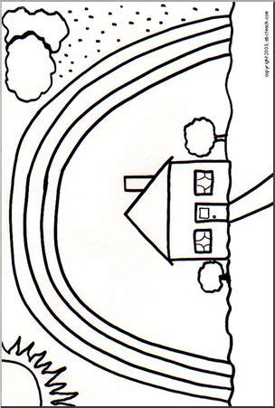 abcteach coloring pages coloring page rainbow 2 abcteach