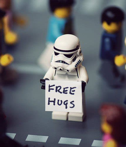 free hugs caign star wars macha spreads joy