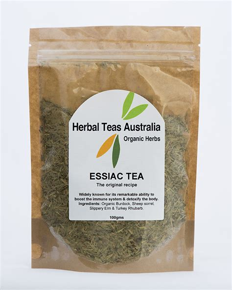Essiac Tea Detox by Herbal Teas Australia Feel Real Essiac The