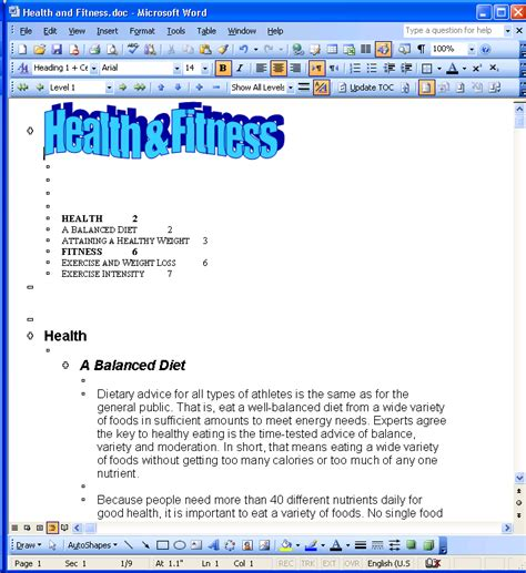 microsoft word normal layout lmc csc 151 microsoft word 2003 reference views