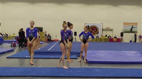 10 year gymnast floor routine pederson 10 year level 8 gymnast floor routine