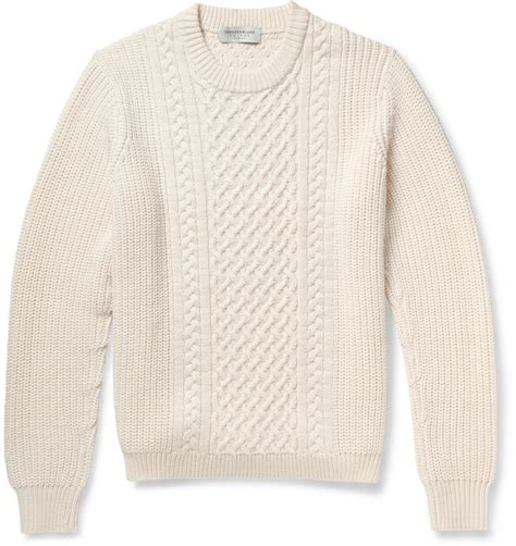 how to wear a cable knit sweater white wool cardigan outdoor jacket