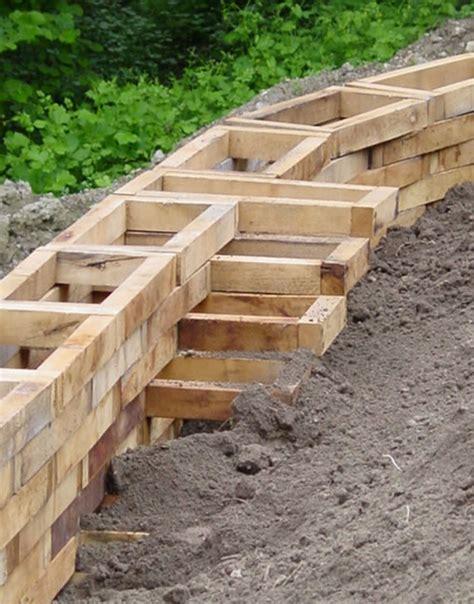 st 252 tzmauer aus akazienholz robinienholz