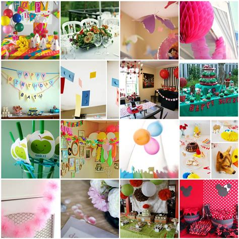 home decorating ideas for birthday party homemade party decorations decoration ideas party