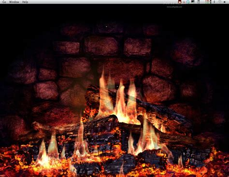 Fireplace Wallpaper by Animated Fireplace Wallpaper Wallpaper Animated