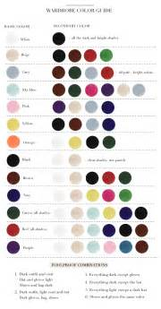 colors that match with to go wardrobe color guide