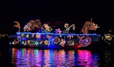 boat holiday lights newport beach christmas light boat cruises shelly lighting