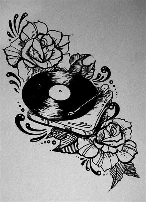 rose tattoo song 42 best vinyl ink images on ideas
