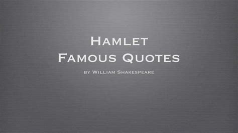 themes in hamlet with supporting quotes hamlet quotes