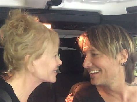 Kidman In On Set Car by Keith And Kidman Sing Quot The Fighter Quot In Their