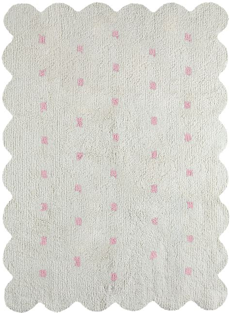 reversible cotton rugs reversible cookie cotton rug in pink and beige by canals