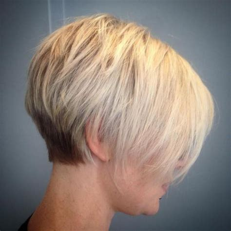 tapered gray bob with bangs 100 mind blowing short hairstyles for fine hair