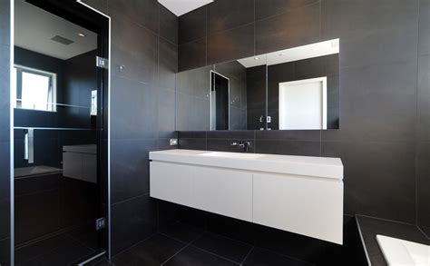 Modern Bathroom Designs Nz Bathroom Style Is Black And White Bathrooms