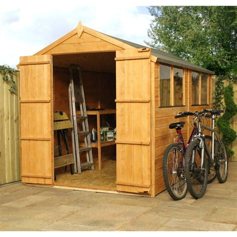 10 X 4 Wooden Shed 10 X 6 Tongue And Groove Apex Wooden Shed