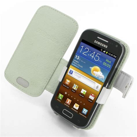 Lovelyskin Samsung Galaxy Ace2 Custom Design samsung galaxy ace 2 leather flip cover white pdair book
