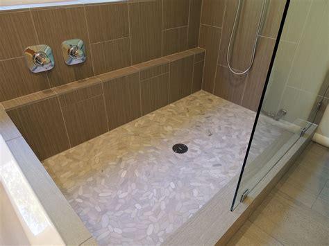 shower ledge frameless door alex freddi construction llc