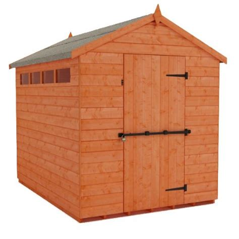 Secure Garden Sheds by Security Apex Garden Shed