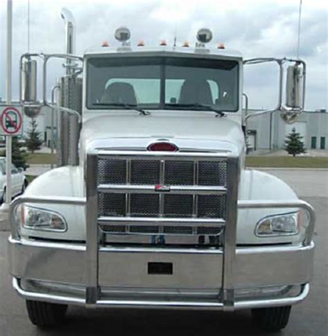 peterbilt  bumper set  axle heavy duty semi truck bumper  ali arc  post deer