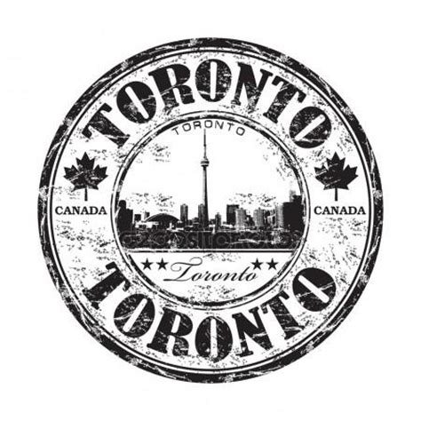 rubber sts toronto toronto stock photos illustrations and vector