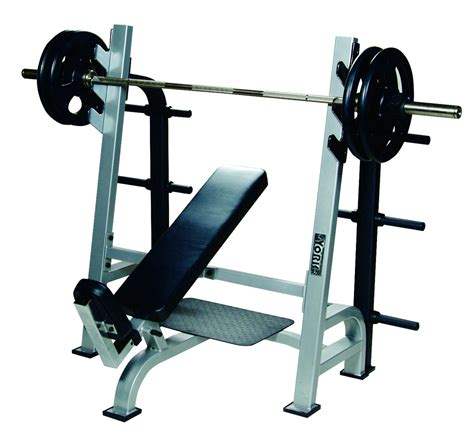 bench gun olympic incline bench press w gun racks benches york barbell