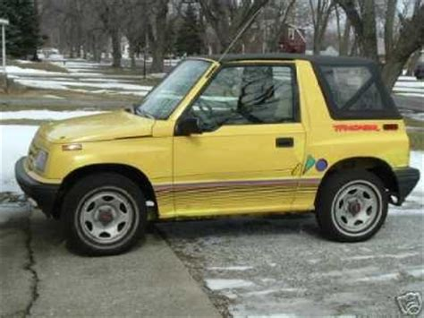 briere15 1992 geo tracker specs, photos, modification info
