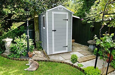 keter manor large    ft resin outdoor backyard garden