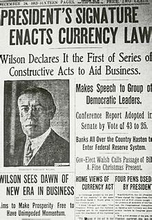 federal reserve act wikipedia