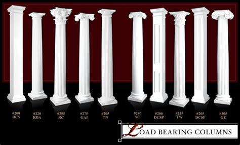 Interior Support Columns by Support Columns Structural Columns Load Bearing