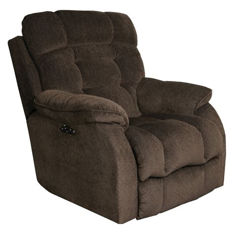 Lumbar Support Recliner by Catnapper Crowley Lay Flat Power Recliner With Lumbar