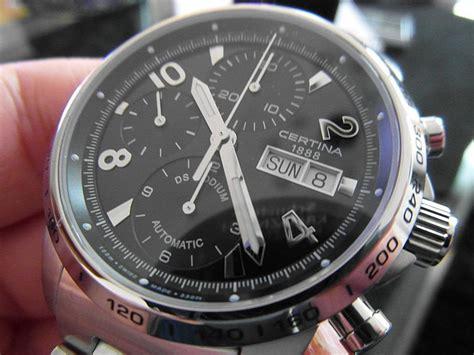 Certina C0114172103700 Swiss Made Original certina ds podium automatic chronograph valjoux 7750