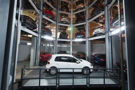 how robotic parking garages will make your easier
