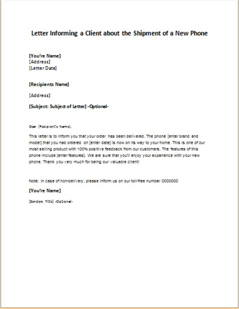 Sample Letter Informing Clients Of Employee Resignation