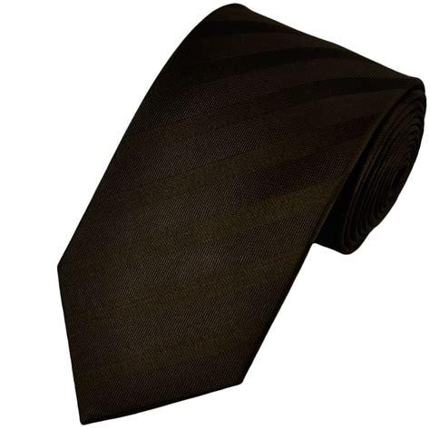 brown pattern tie dark brown self patterned silk tie from ties planet uk