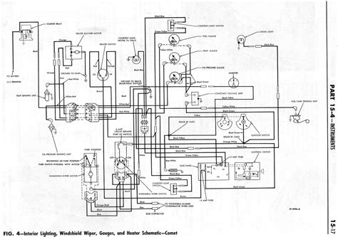 1964 ford falcon alternator wiring diagram get free