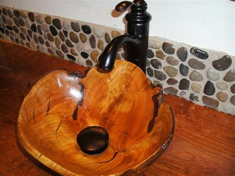 carved sink  mesquite counter  scott shangraw